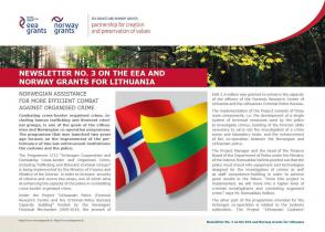 3 Newsletter about the EEA and Norway Grants