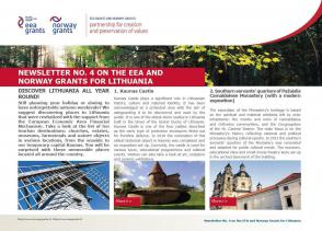4 Newsletter about the EEA and Norway Grants