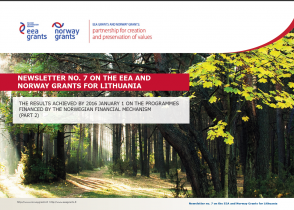7 Newsletter about the EEA and Norway Grants (part 2)